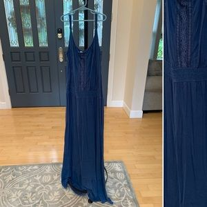 Old Navy Maxi Dress Size L Lace detailing